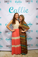 Callie's Sweet 16 Photo Booth